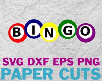 Bingo clipart svg. Etsy