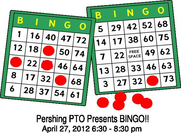 Pershing clip art at. Bingo clipart svg