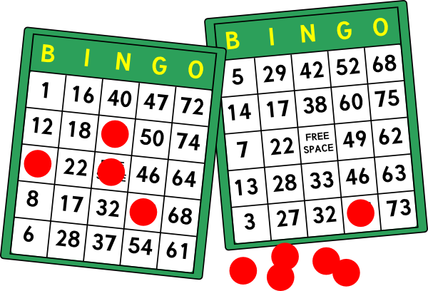 Bingo clipart svg. Cards clip art at