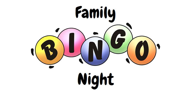 Family night marley park. Bingo clipart tomorrow