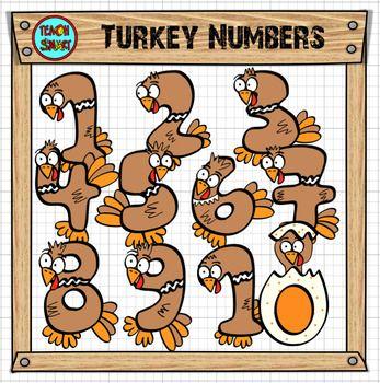 Bingo clipart turkey. Numbers clip art christmas