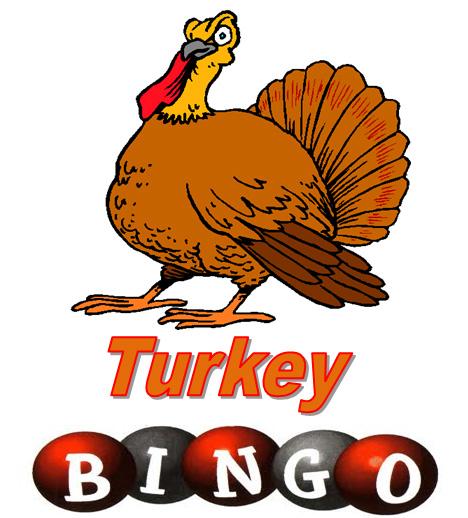 Thanksgiving. Bingo clipart turkey