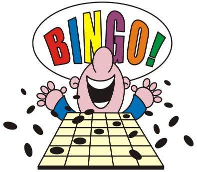 Cash clipart bingo. B i n g