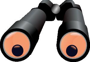Binoculars clipart eye. Jh clip art at