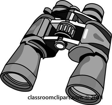 Binocular clipart black and white. Top of binoculars letters
