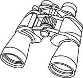 Looking through binoculars kind. Binocular clipart black and white