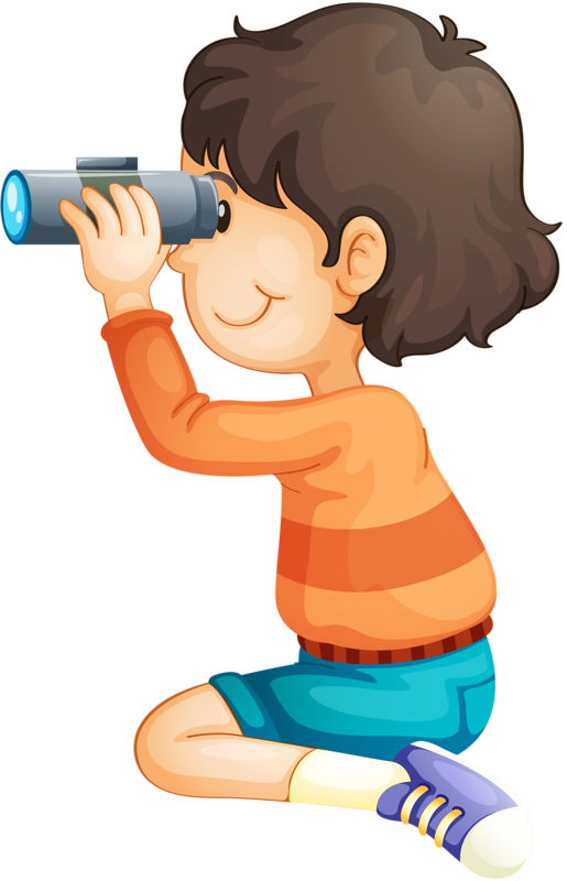 Exercise clipart fit boy.  png binoculars clip