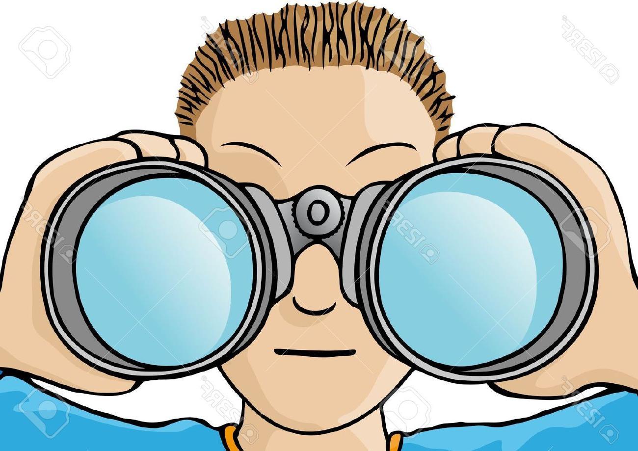 Best hd binoculars drawing. Binocular clipart clip art