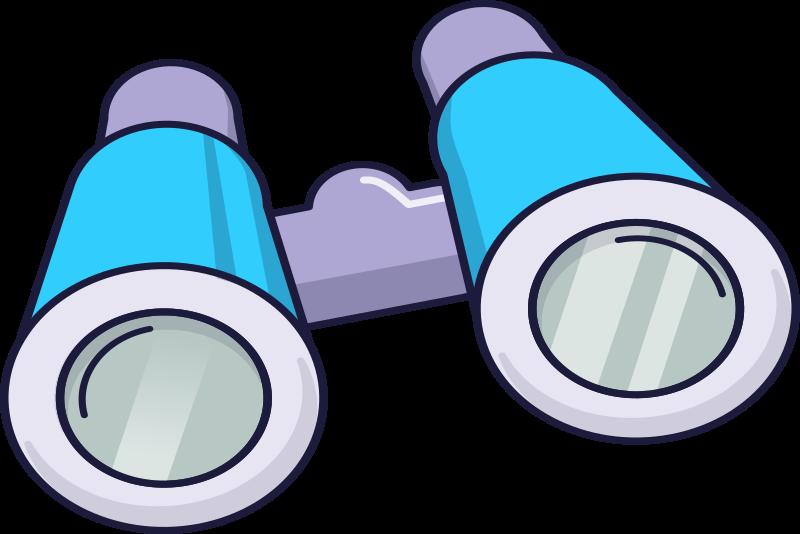 Binocular clipart clip art. Hd blue binoculars images