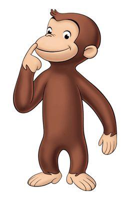 Monkeys clipart curiosity. Curious george binoculars clip