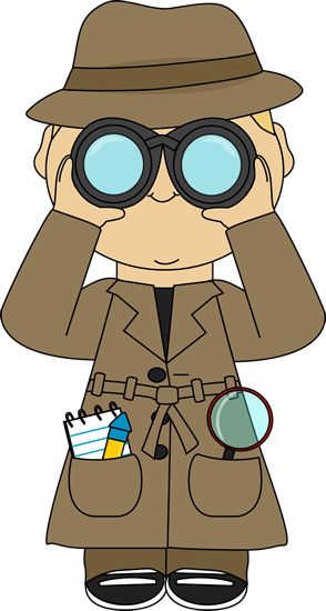 Binocular clipart curious person.  best classroom theme