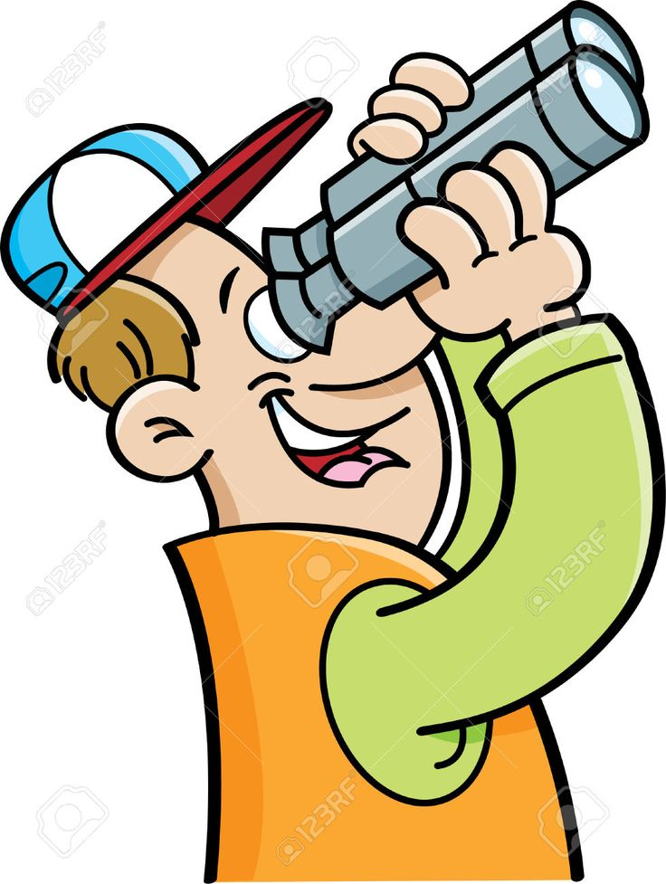 Binocular clipart curious person.  best images about