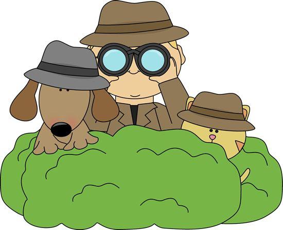 best d tective. Binoculars clipart detective