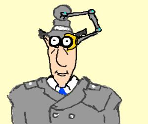 Binocular clipart inspector. Go gadget binoculars