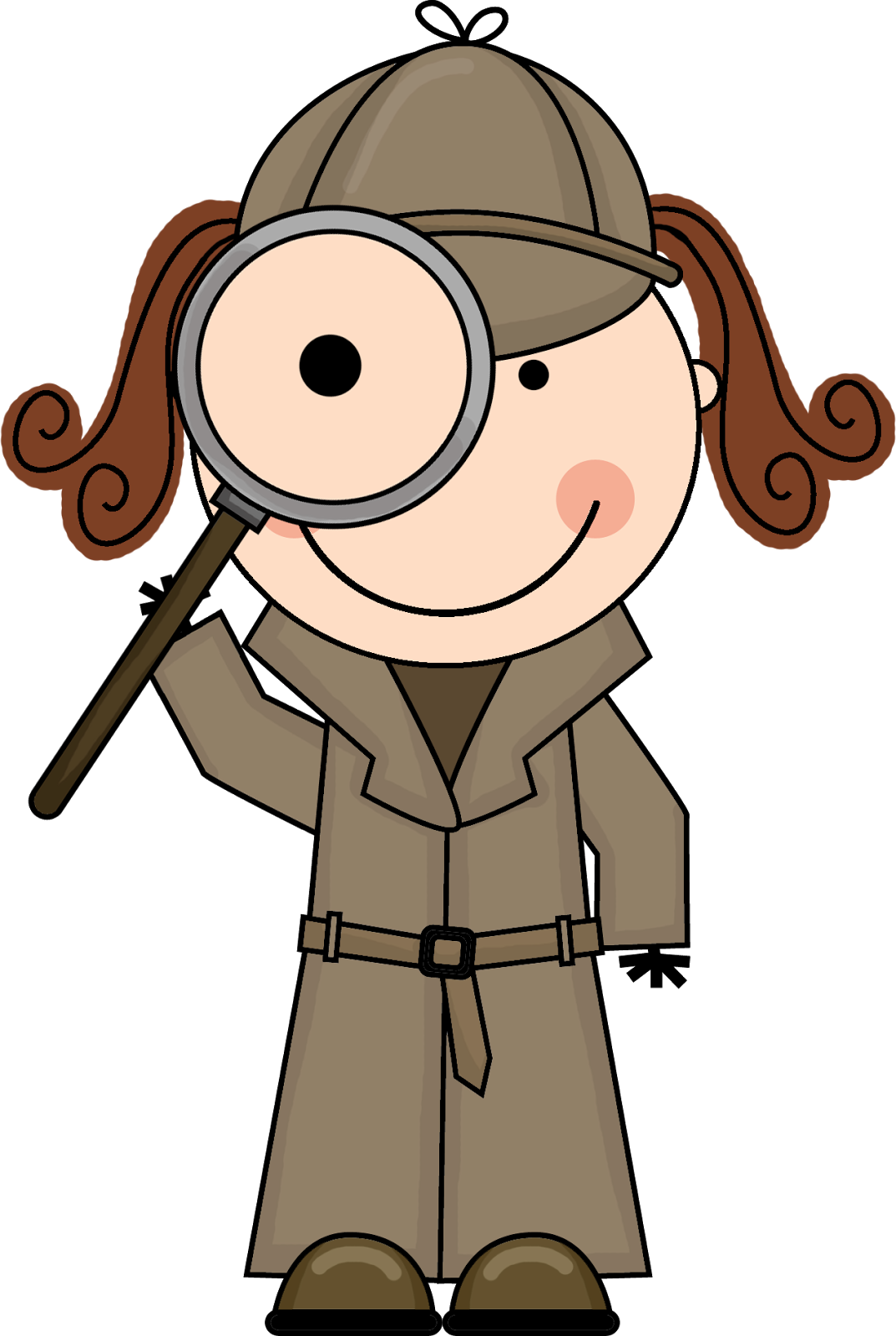 Pin by staffing options. Clipart teacher detective