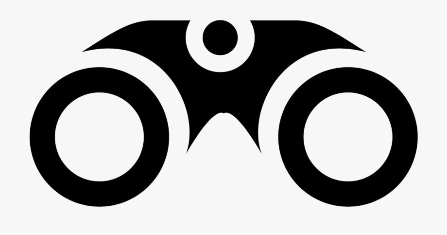 Binoculars circle free . Binocular clipart inspector