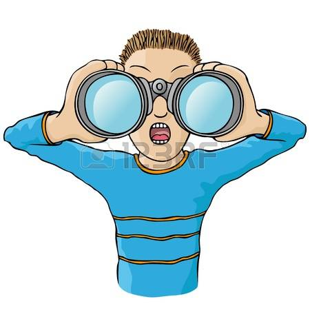 clip art clipartlook. Binocular clipart kid with binoculars