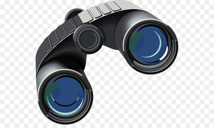 Camera transparent clip art. Binoculars clipart lens