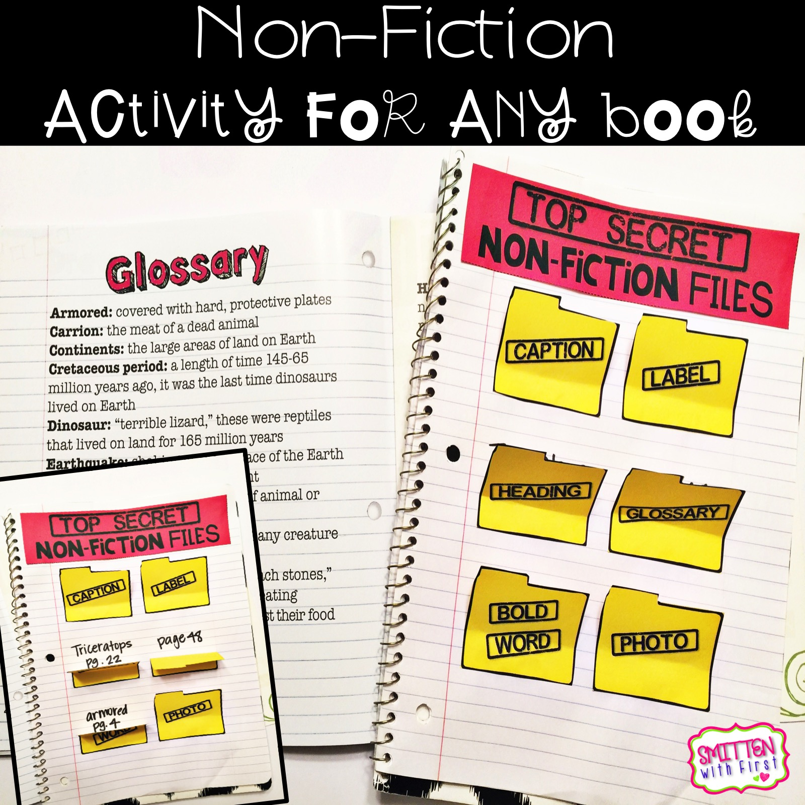 Binocular clipart nonfiction text. Teaching non fiction and