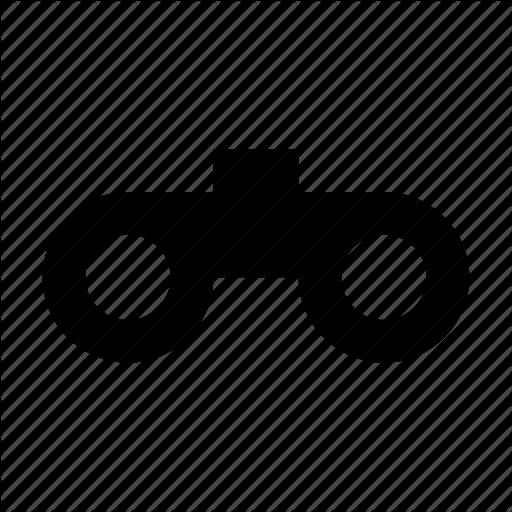 Binocular clipart spy tool. Magnifying spyglass spying icon