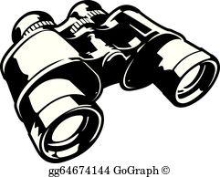 Binoculars clipart. Clip art royalty free
