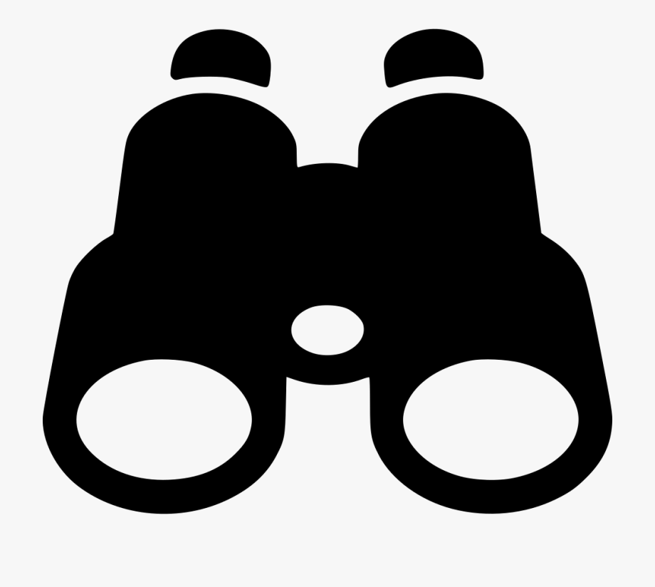 Find search zoom look. Binoculars clipart