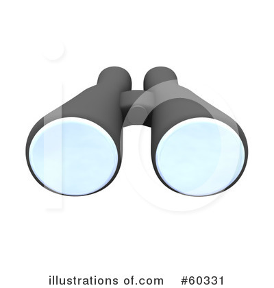 Binoculars clipart detective. Illustration by jiri moucka