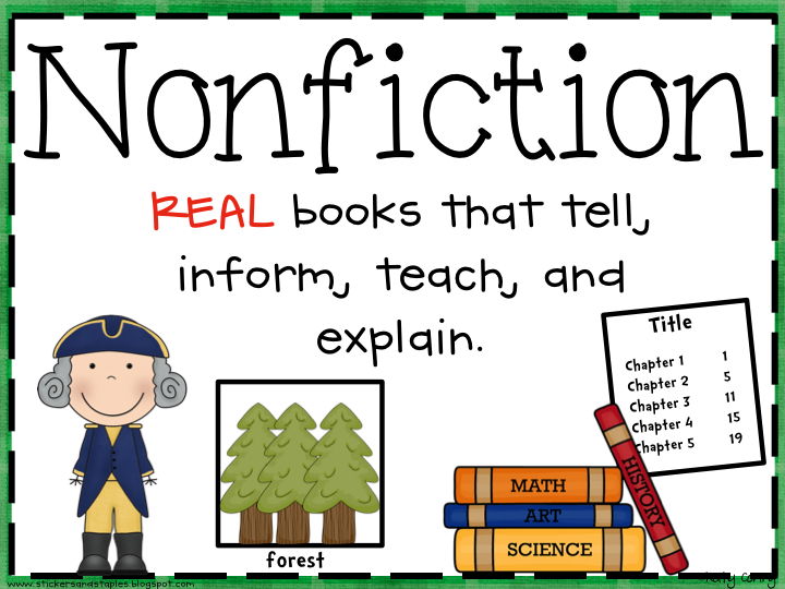 Free non fiction cliparts. Textbook clipart informational text