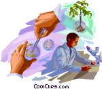 Biology clipart animated. Science gif animations coolclips