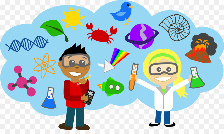 Scientist cartoon science . Biology clipart animated