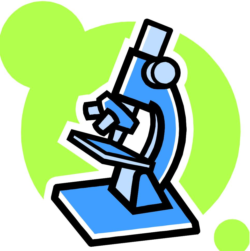 Biology clipart biology class. Science microscope