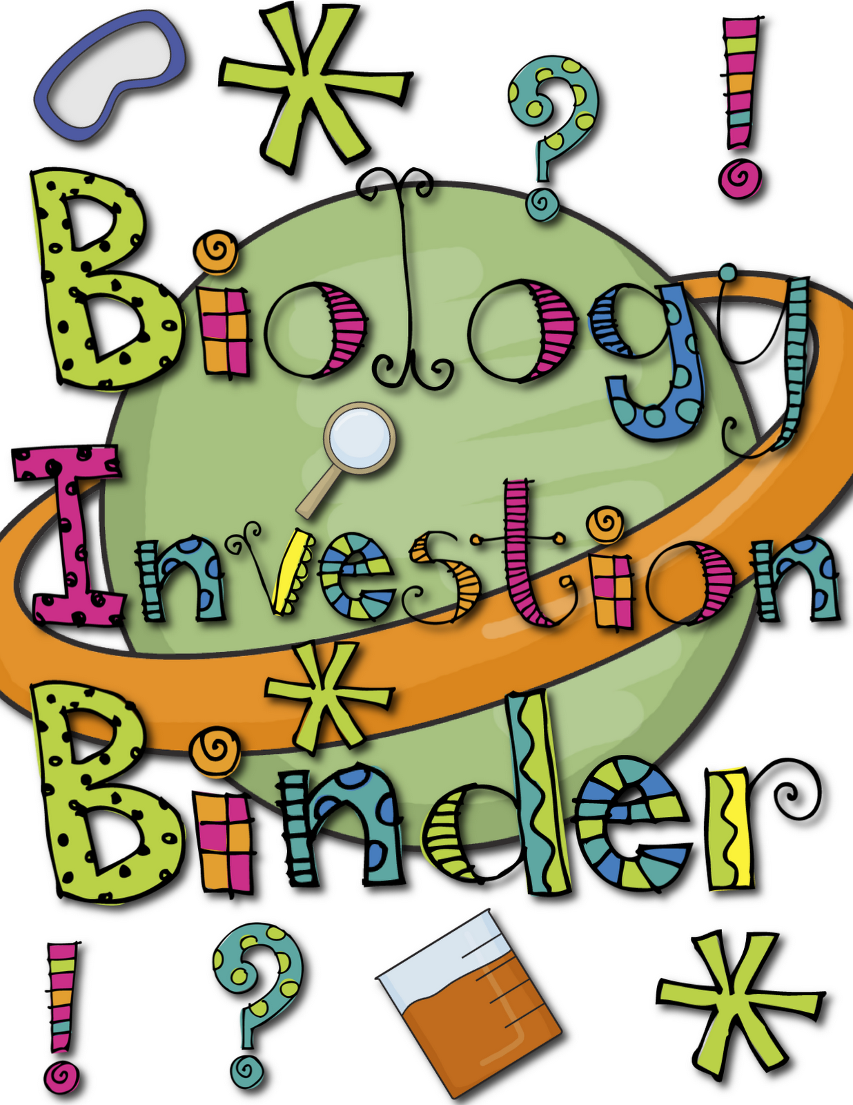 Incep imagine ex co. Biology clipart biology cover page