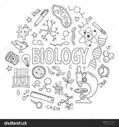 Biology clipart biology cover page. Science classroom organization pinterest
