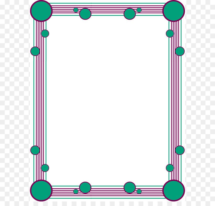 Biology clipart border. Line clip art borders
