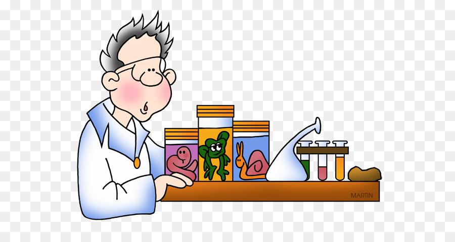 Science cartoon . Biology clipart clip art