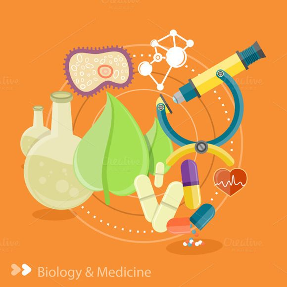 Biology clipart creative. And medicine by robuart