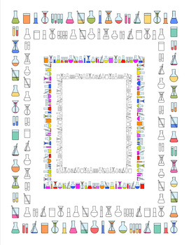 Biology clipart frame. Science borders and clip
