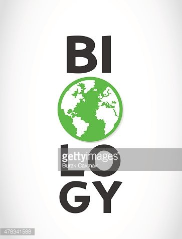 Biology clipart word. And world symbol premium