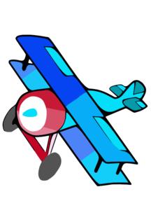 Clip art at clker. Biplane clipart