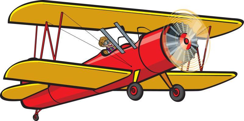 Biplane clipart. Plane hubpicture pin