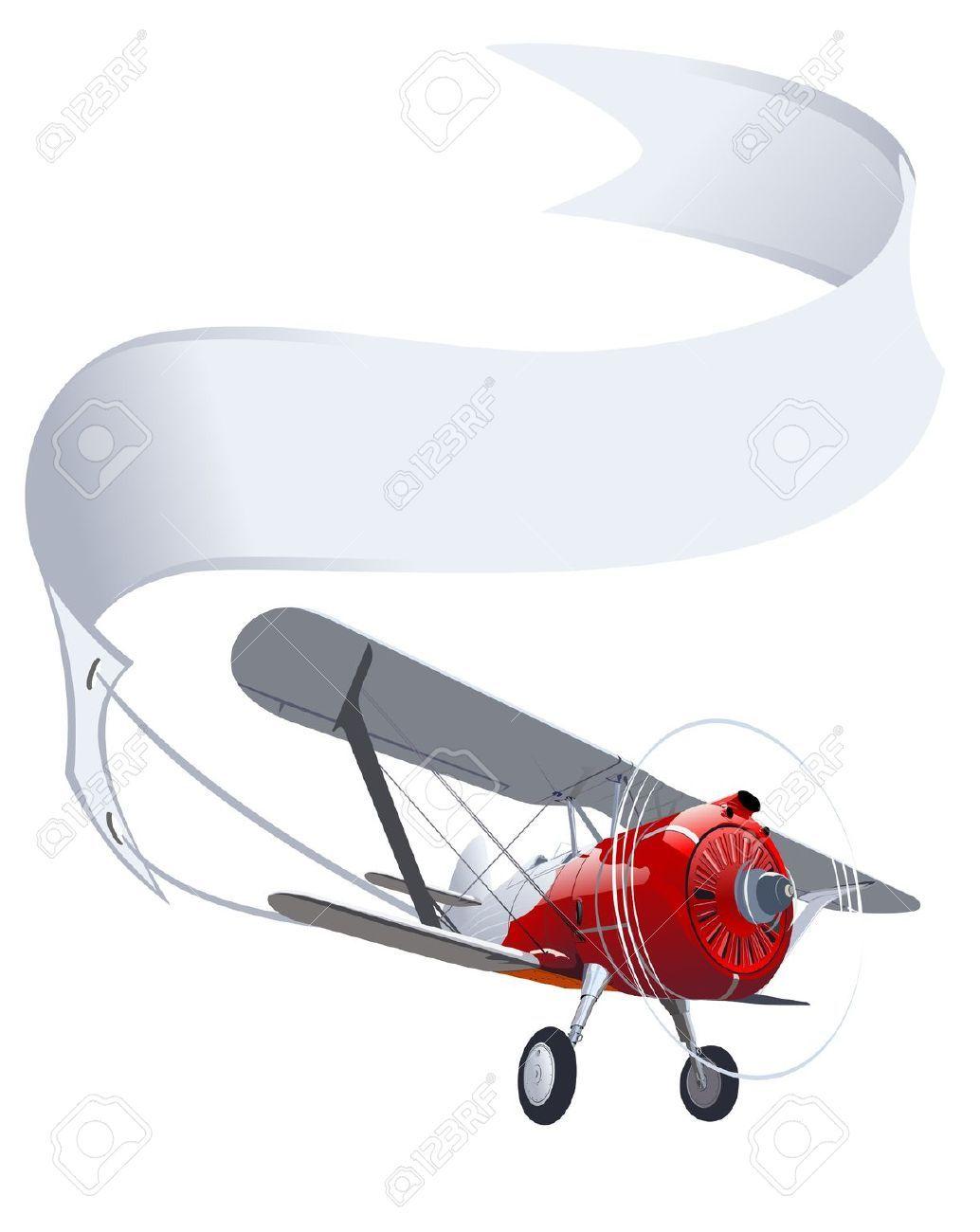 Biplane clipart banner. Pin by lea monroe
