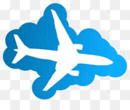 Biplane clipart blue. Airplane silhouette download plane