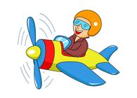 Biplane clipart cartoon. Search results for plane