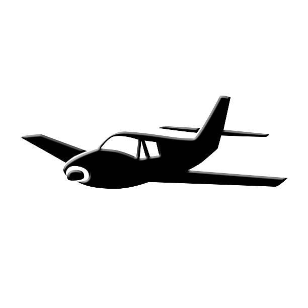 Biplane clipart clip art. Silhouette at getdrawings com