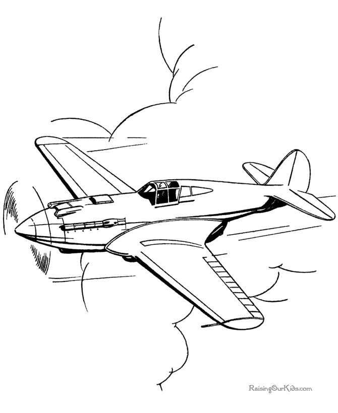 best airplane pages. Biplane clipart coloring page