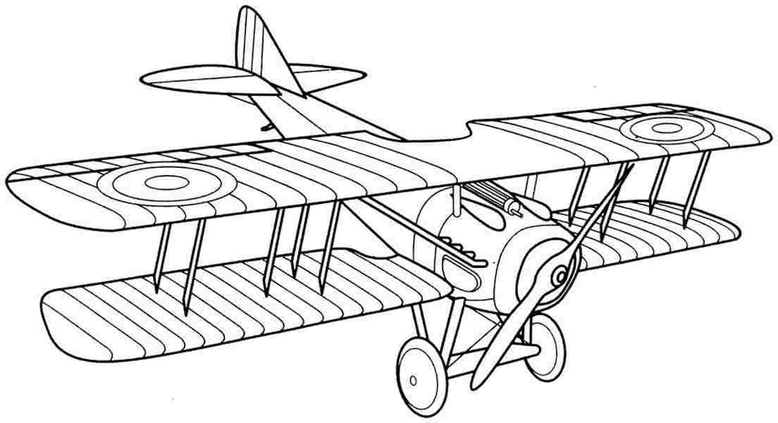 Printable biplanes pinterest. Biplane clipart coloring page