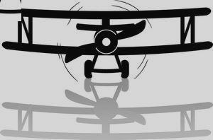Biplane clipart cute. Bi plane