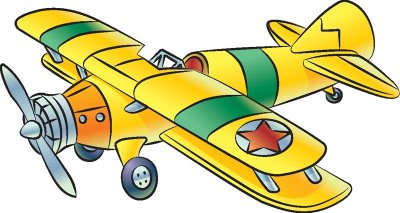 How to draw biplanes. Biplane clipart drawing