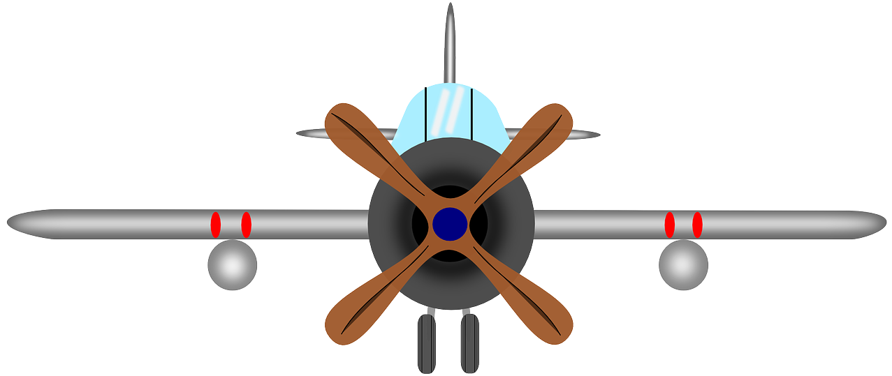 Biplane clipart front. Aircraft propeller airplane old