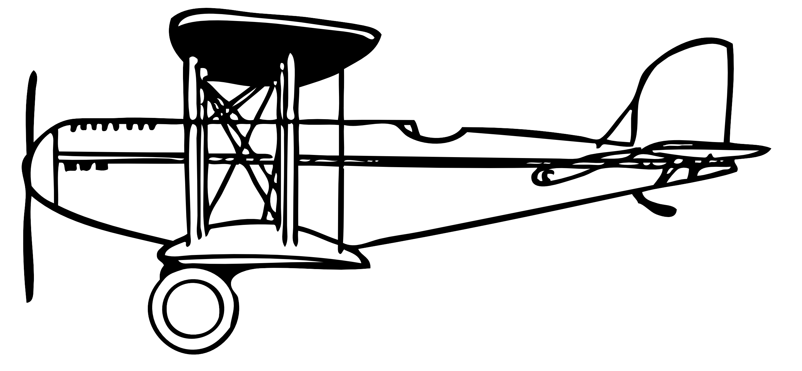 Biplane clipart illustration. Free cliparts download clip